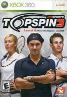 北米版 TOPSPIN3(国内版本体動作不可)