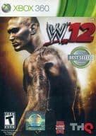 北米版 WWE12(国内版本体動作可)
