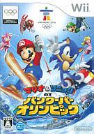 Mario (disambiguation) & SonicAT Vancouver Olympics