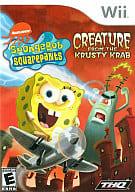 北米版 SPONGEBOB SQUAREPANTS:CREATURE FROM THE KRUSTY KRAB(国内版本体動作不可)