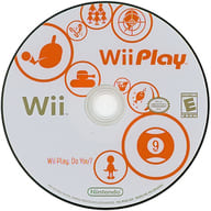 North American version Wii Play (domestic version inoperable) (Status: Game disc only)