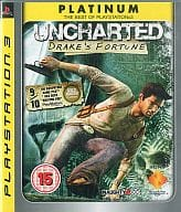 EU版 UNCHARTED DRAKE'S FORTUNE[PLATINUM](国内版本体動作可)