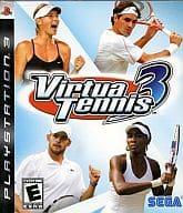北米版 Virtua Tennis 3 (国内版本体動作可)