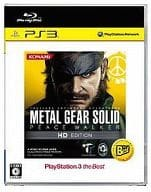 METAL GEAR SOLID PEACE WALKER HD EDITION(PlayStation 3 the Best)