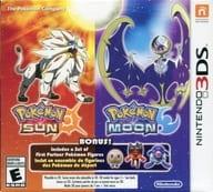 北米版 POKEMON SUN AND MOON DUAL PACK 3 STARTER FIGURES EDITION (国内版本体動作不可)