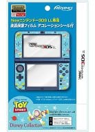 New3DSLL exclusive LCD protective film with decoration seal (Toy Story)