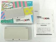 Newニンテンドー3DS本体 ホワイト(状態:ARカード欠品)