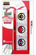 ポケットモンスタープッシュ!カードケース6 for ニンテンドー3DS モンスターボール