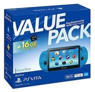 PlayStation Vita本体 バリューパック アクア・ブルー[PCHJ-10033]