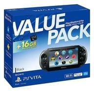 PlayStation Vita本体 バリューパック ブラック[PCHJ-10032](状態:USBケーブル欠品)