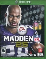 North American version MADDEN NFL 25 1989 2014 (domestic version can be used)