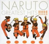 NARUTO GREATEST HITS !!!!! (Condition: Sticker Missing)