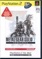 METAL GEAR SOLID 2 SUBSTANCE(PlayStation2 the Best)