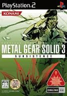 METAL GEAR SOLID 3 SUBSISTENCE