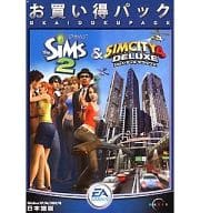 The Sims 2 & Sim City 4 Deluxe Deal Pack (Condition: Furniture Catalog Missing Item)