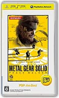 METAL GEAR SOLID PEACE WALKER(PSP the Best)