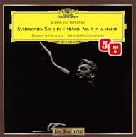 "Herbert von Karajan Berlin Philharmonic Orchestra / Beethoven: Symphony No.5 ""Fate"" & No.7"