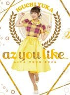 Iguchi Yuka / 2nd LIVE TOUR 2016 az you like ... [Initial Specification Version]