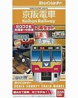 "Keihan Train 8000 Series 2-Car Set ""B Train Shorty"""