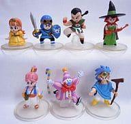 全7種セット 「ドラゴンクエスト キャラクターフィギュアコレクション ~ロトの伝説編2~」