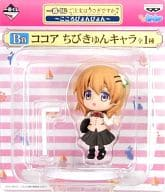 "Cocoa ""Is your order the most rabbit? ~ Kokoro Ponpyon ~ B prize Chibi character character"