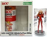 """Asami Asuka Langley UCC COFFEE Milk & Coffee 250 g with special-made figure (Blu-Ray & DVD release commemoration) """"Evangelion New Theatrical Version: Destruction"""""""
