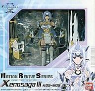 """KOS-MOS Ver.4 """"Xenosaga Xenosaga III"""" Motion Revival Series Action Figure"""