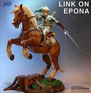 リンクonエポナ 「ゼルダの伝説 時のオカリナ」 塗装済み完成品フィギュア