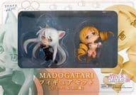 巴マミ & 羽川翼 フィギュアセット C  「魔法少女まどか☆マギカ×<物語>シリーズ」 MADOGATARI展グッズ