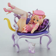 "Soft Cat and Chair ""Cat's Planet"" 1: 8 Pre-painted PVC Figure"