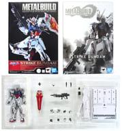 METAL BUILD GAT-X105 ストライクガンダム 「機動戦士ガンダムSEED」 魂ウェブ商店限定