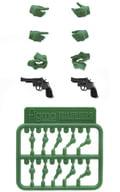 リトルアーモリー [LAOP07]figma用タクティカルグローブ2 リボルバーセット「グリーン」