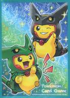 [単品] デッキシールド(スリーブ) 「ポケモンカードゲームXY BREAK スペシャルBOX レックウザポンチョを着たピカチュウ ポケモンセンターオリジナル」 同梱品