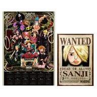 ワンピース 2011年度ポスターカレンダー サンジ手配書ポスター付き