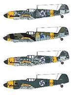 1/48 メッサーシュミット Bf109G-2 フィンランド空軍 デカール [SBMD48014]