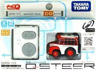 Choro Q Q - STEER - QUE SUPER - QSS - 10 bonnet bus (red × white) C · D band specification