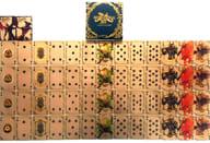 "GOLD Playing Card ""GARO-GOLD STORM-Sho"""