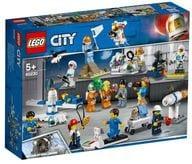 LEGO スペースポート ミニフィグセット-宇宙探査隊と開発者たち 「レゴ シティ」 60230