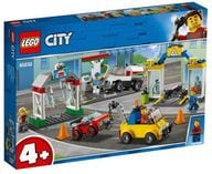 LEGO タウン 3台のクルマつき!ガソリンスタンド 「レゴ シティ」 60232