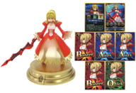 """Saber / Nero Claudius + skill card (three times, even when the sun is over A) """"Fate / Grand Order Duel -collection figure-Vol.4"""""""