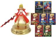 セイバー/ネロ・クラウディウス+スキルカード(三度、落陽を迎えても A) 「Fate/Grand Order Duel -collection figure- Vol.4」