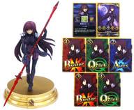 "Lancer / Sukasaha + skill card (original Rune) ""Fate / Grand Order Duel - collection selection figure - Vol.1"""