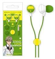 """Shitenhouji School Color Earphone """"The Prince of Tennis"""""""
