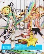 寒音ジミ 星型キーホルダー&ストラップ 「CD Reboot / ジミーサムP feat. 初音ミク、巡音ルカ」 数量限定特典