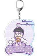 """B. Ichimatsu × Nanyani Nyonyon (pine) Deca Key Holder """"Osomatsu × Sanrio Characters"""""""