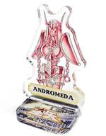アンドロメダ 「創刊50周年記念 週刊少年ジャンプ展 聖闘士星矢 アクリルminiフィギュア」