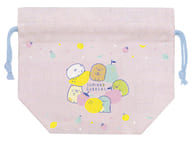 """Collection (Fruit Pattern) Lunch Market Lunch Drawstring """"Sumiko Gouge"""""""