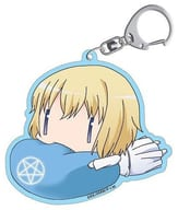 "Acrylic key holder with orthora = Aquinas ""Toaru Majutsu no Index"""