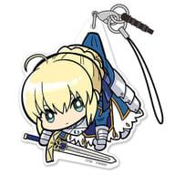 セイバー/アルトリア・ペンドラゴン アクリルつままれストラップ 「Fate/EXTELLA LINK」