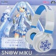 雪ミク SNOW MIKU イメージヘッドフォン 「VOCALOID」